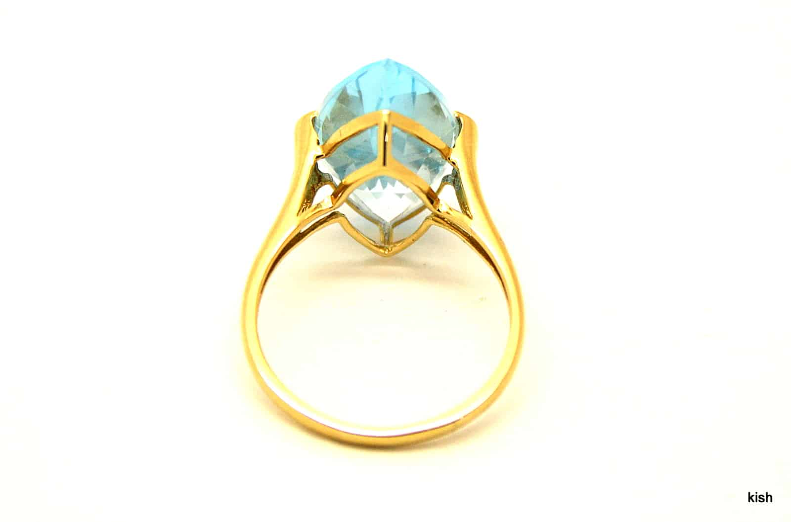 vintage topaz ring kish jewellers